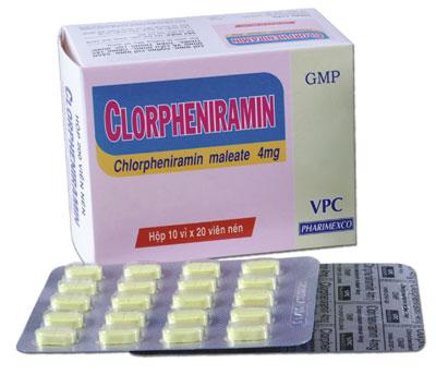 Có nên dùng Clopheniramin thường xuyên trị dị ứng mề đay?