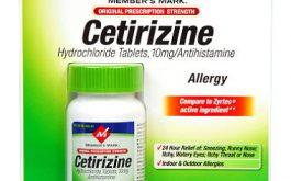 Dùng thuốc chống dị ứng Cetirizine hidrochlode lâu dài có ảnh hưởng gì không?