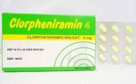 Các loại thuốc kháng Histamin chống dị ứng