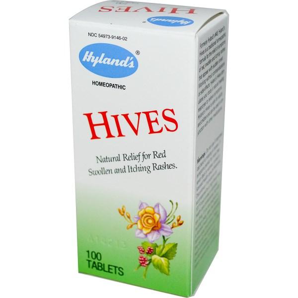 Hyland's Hives hỗ trợ điều trị bệnh mề đay