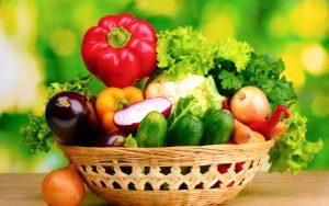 Ăn nhiều rau củ quả khi bị dị ứng thời tiết