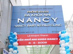 bệnh viện nhi khoa Nancy