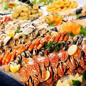 phòng chống nổi mề đay khi ăn hải sản