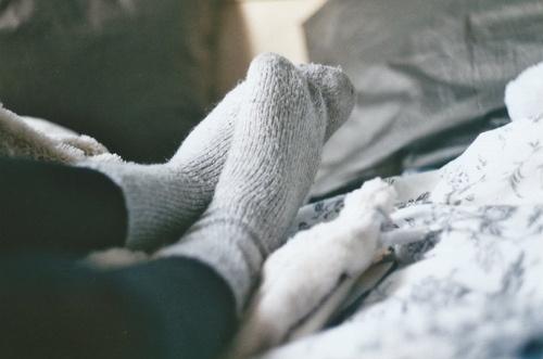 giữ ấm cho da chữa ngứa chân mùa đông