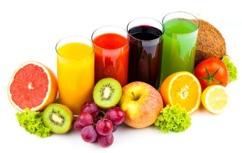 tăng cường ăn rau và hoa quả tươi khi bị dị ứng bột yến mạch