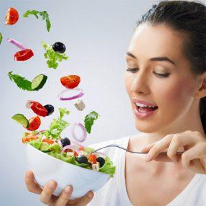 bổ sung rau củ quả và trái cây