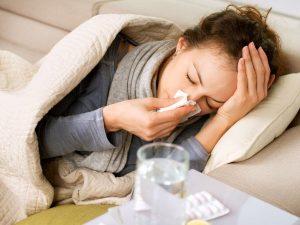 Cảm cúm, nhức đầu