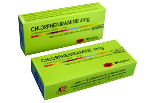 Thuốc Chlorphenamin