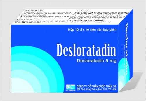 ThuốcDesloratadine