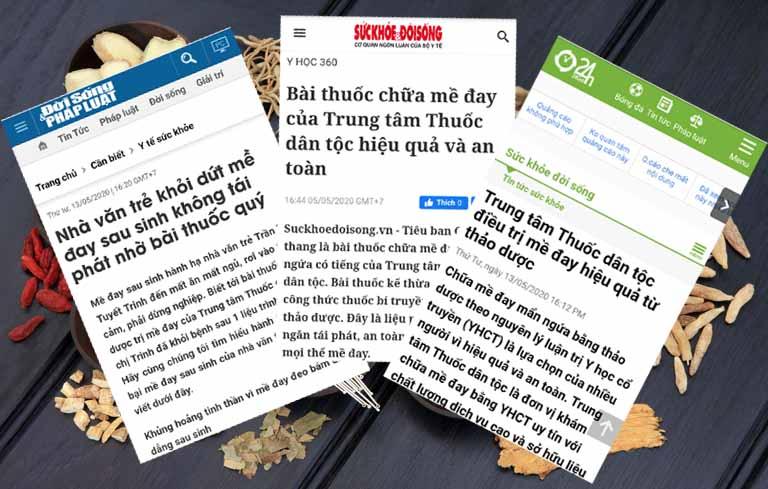 Báo chí nói về bài thuốc Tiêu ban Giải độc thang