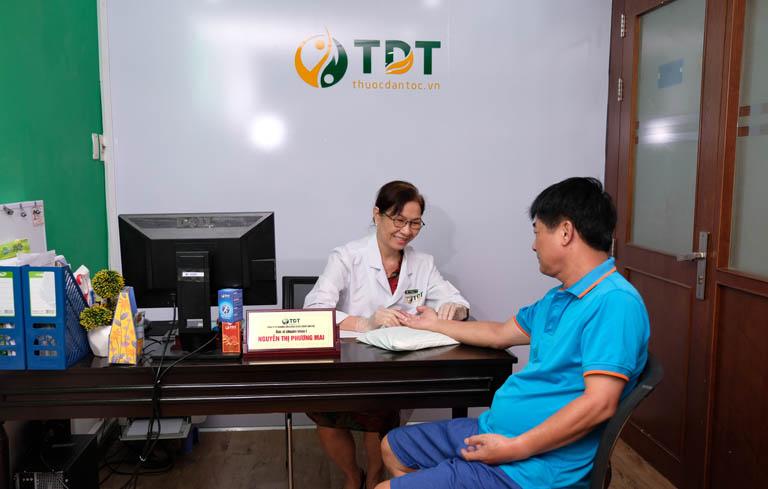 Người bệnh phản hồi tích cực về dịch vụ khám chữa mề đay